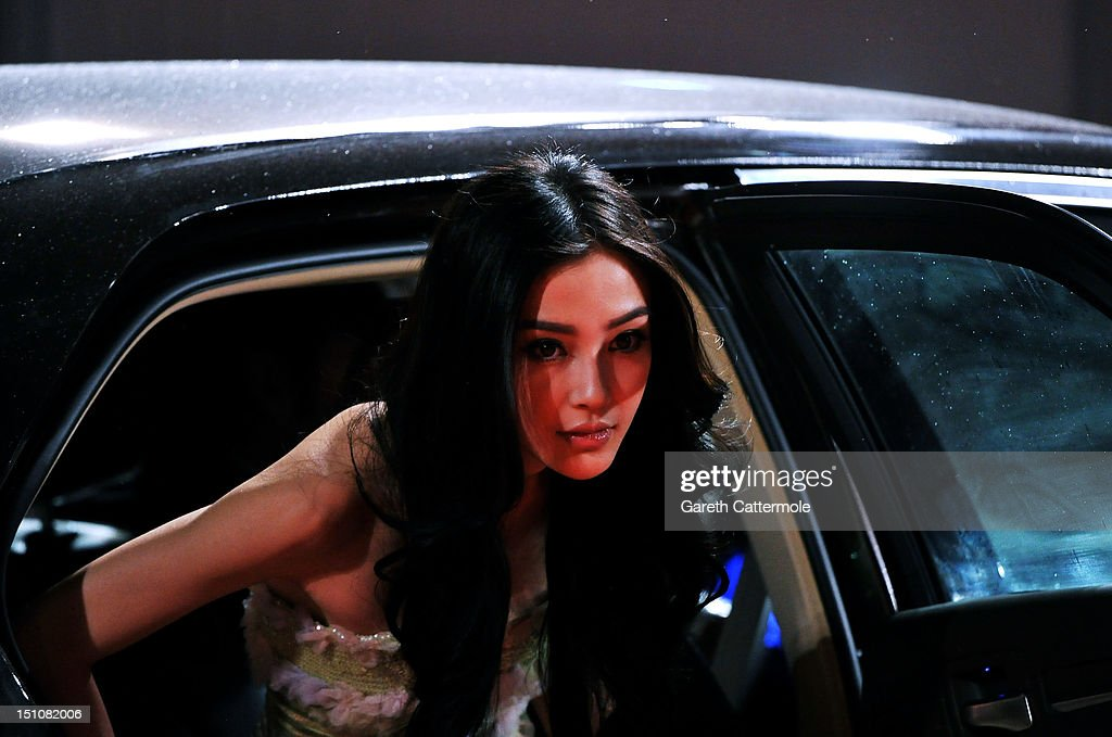 Actress Angelababy attends the 'Tai Chi O' premiere during the 69th Venice Film Festival at the Palazzo del Cinema on August 31, 2012 in Venice, Italy.