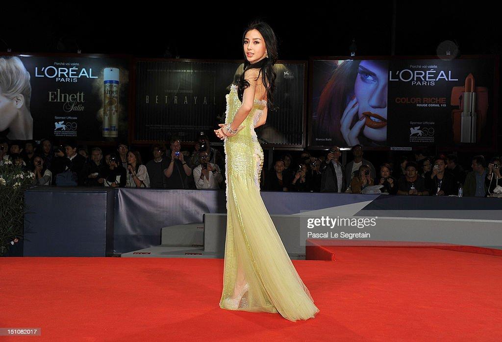 """""""Tai Chi O"""" Premiere - The 69th Venice Film Festival"""