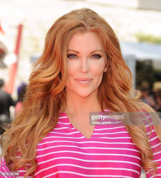 Actress Angelica Bridges attends the 'Baywatch' SlowMo Marathon at Microsoft Square on April 22 2017 in Los Angeles California