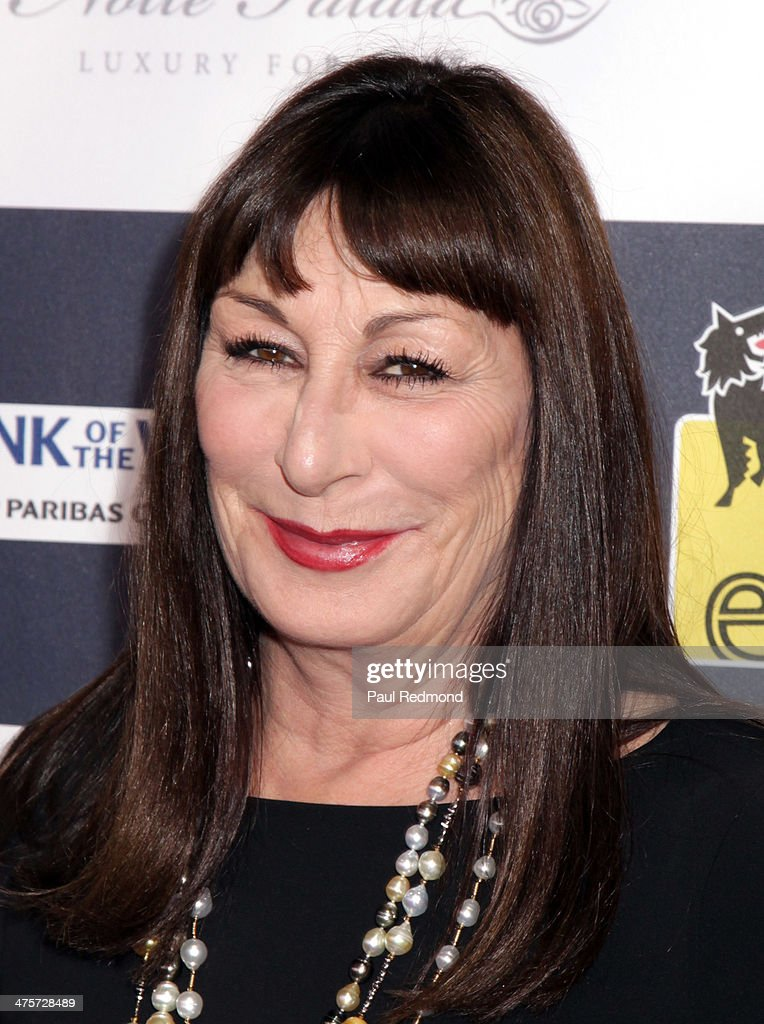 Actress Angelica Huston attends the 9th Annual L.A. Italia Film, Fashion And Art's Festival - Closing Night Awards Ceremony at TCL Chinese Theatre on February 28, 2014 in Hollywood, California.