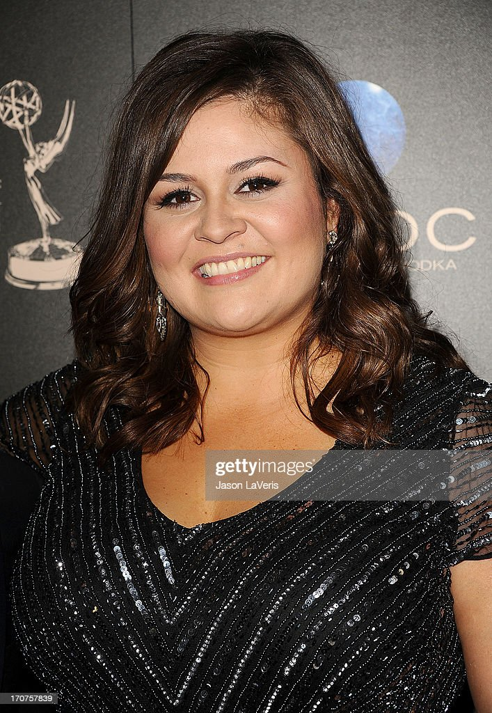 Actress Angelica McDaniel attends the 40th annual Daytime Emmy Awards at The Beverly Hilton Hotel on June 16, 2013 in Beverly Hills, California.