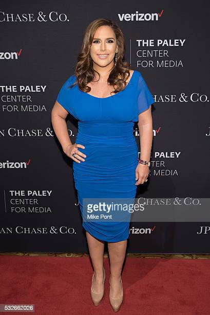 Actress Angelica Vale attends the 2016 Paley Center for Media's Tribute To Hispanic Achievements In Television at Cipriani Wall Street on May 18 2016...