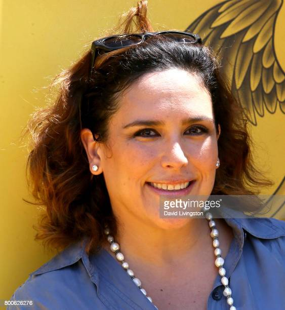 Actress Angelica Vale attends the premiere of Universal Pictures and Illumination Entertainment's 'Despicable Me 3' at The Shrine Auditorium on June...