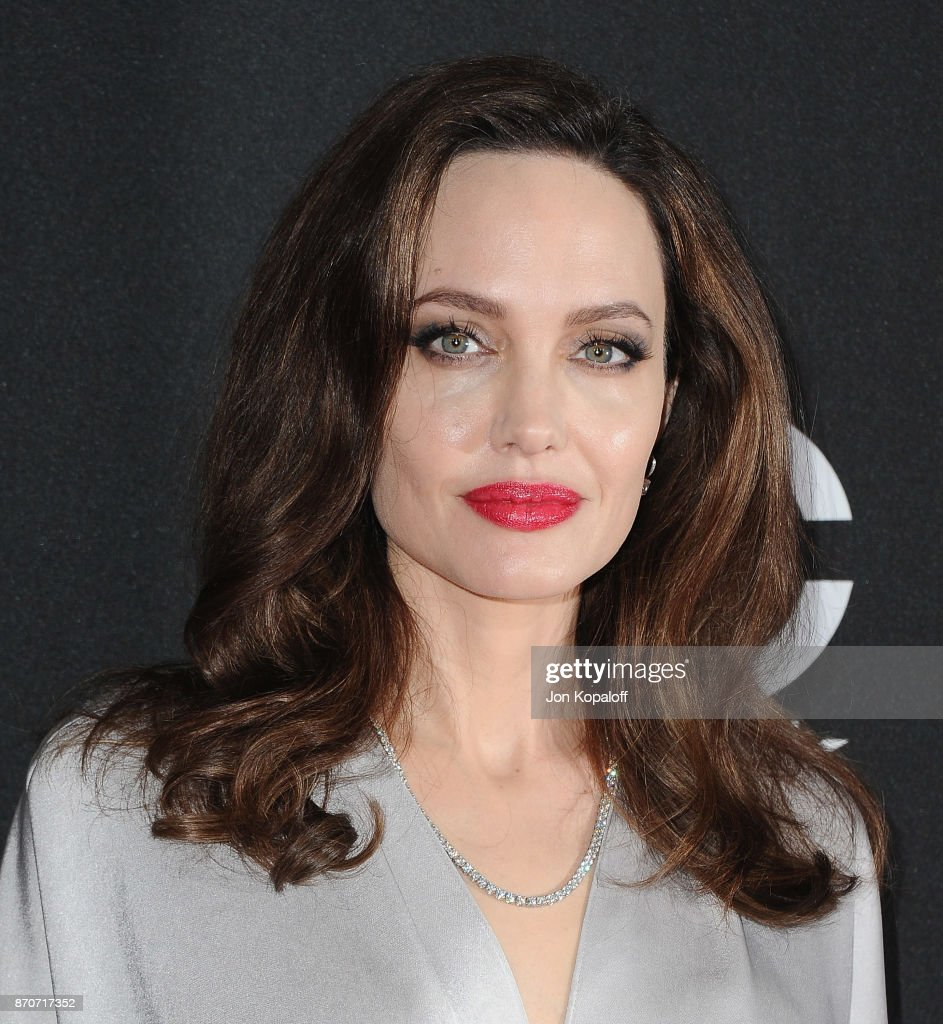 Actress Angelina Jolie arrives at the 21st Annual Hollywood Film Awards at The Beverly Hilton Hotel on November 5, 2017 in Beverly Hills, California.