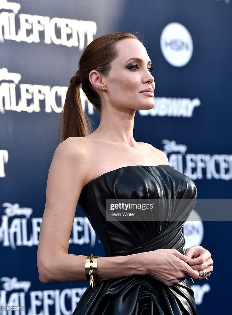 Actress Angelina Jolie attends the World Premiere of Disney's 'Maleficent' at the El Capitan Theatre on May 28, 2014 in Hollywood, California.