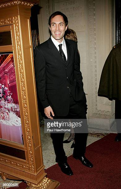 Actress Angelina Jolie's brother James Haven attends the Worldwide Orphans Foundation to Honor Christine Ebersole at Capitale October 24 2005 in New...