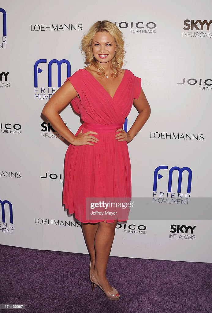 Actress Angeline Rose Troy attends the Friend Movement Anti-Bullying Benefit Concert at the El Rey Theatre on July 1, 2013 in Los Angeles, California.