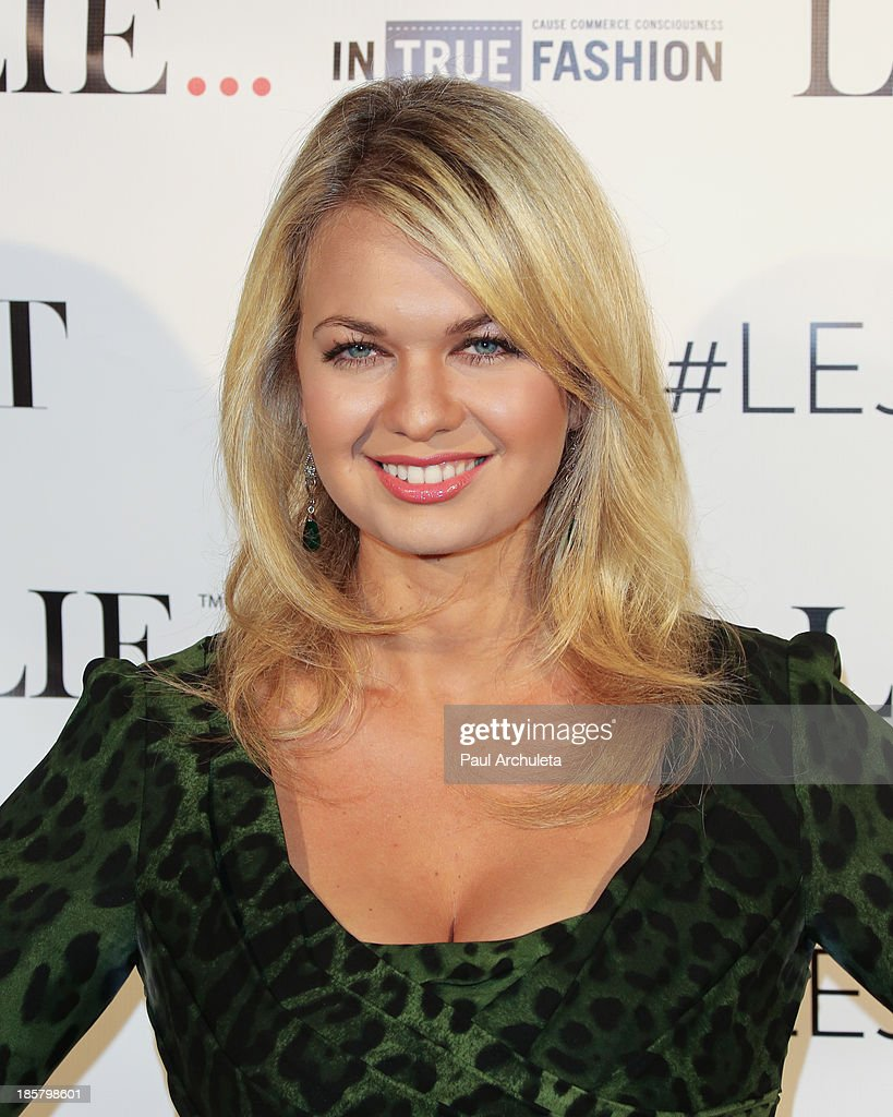 Actress Angeline Rose Troy attends the LeJolie.com launch party at No Vacancy Night Club on October 24, 2013 in Los Angeles, California.