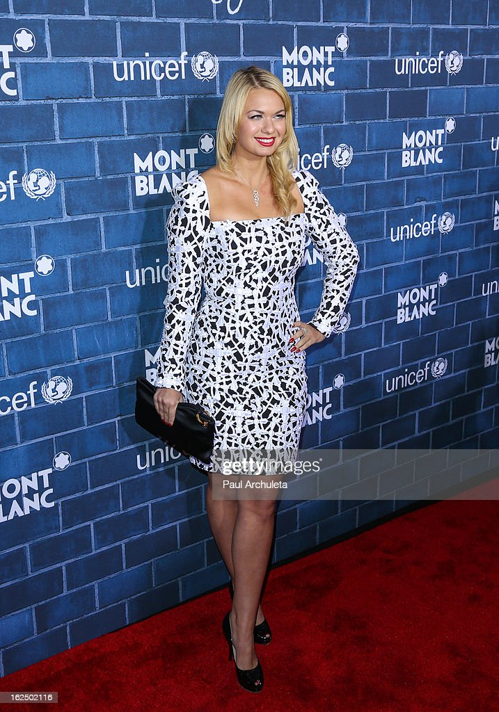Actress Angeline-Rose Troy attends Montblanc's 2nd annual Pre-Oscar brunch celebrating the 'Signature For Good' collection with UNICEF at Hotel Bel-Air on February 23, 2013 in Los Angeles, California.