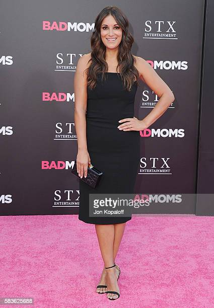 Actress Angelique Cabral arrives at the Los Angeles Premiere 'Bad Moms' at Mann Village Theatre on July 26 2016 in Westwood California