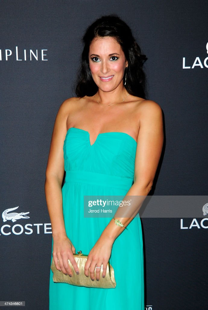 Actress Angelique Cabral attends the 16th Costume Designers Guild Awards with presenting sponsor Lacoste at The Beverly Hilton Hotel on February 22, 2014 in Beverly Hills, California.