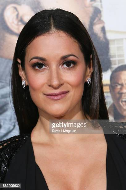 Actress Angelique Cabral attends the premiere of Warner Bros Pictures' 'Fist Fight' at Regency Village Theatre on February 13 2017 in Westwood...