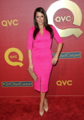 Actress Angelique Cabral attends the QVC 5th Annual Red Carpet Style event at The Four Seasons Hotel on February 28 2014 in Beverly Hills California
