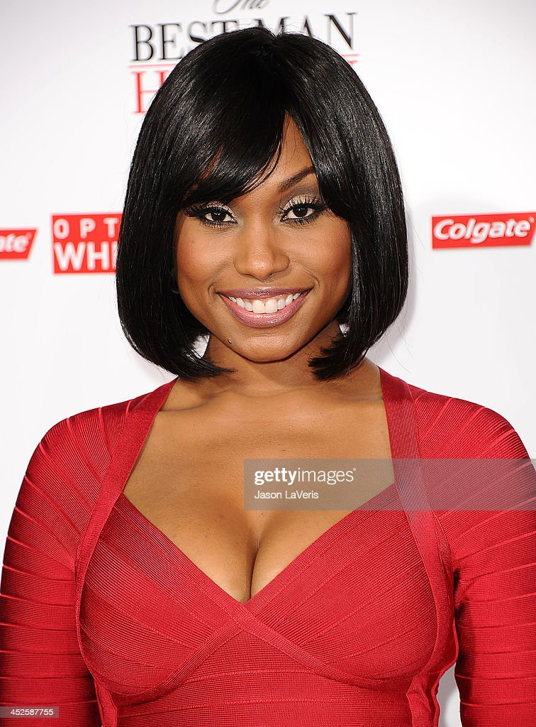 Actress <a gi-track='captionPersonalityLinkClicked' href=/galleries/search?phrase=Angell+Conwell&family=editorial&specificpeople=240300 ng-click='$event.stopPropagation()'>Angell Conwell</a> attends the premiere of 'The Best Man Holiday' at TCL Chinese Theatre on November 5, 2013 in Hollywood, California.