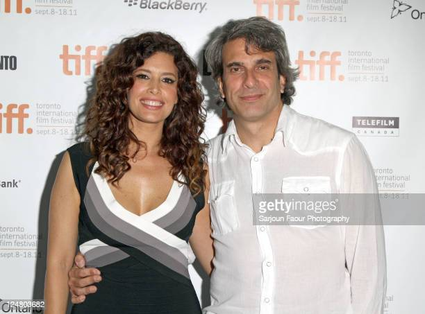 Actress Angie Cepeda and director Jose Henrique Fonseca attends 'Heleno' Premiere at TIFF Bell Lightbox during the 2011 Toronto International Film...