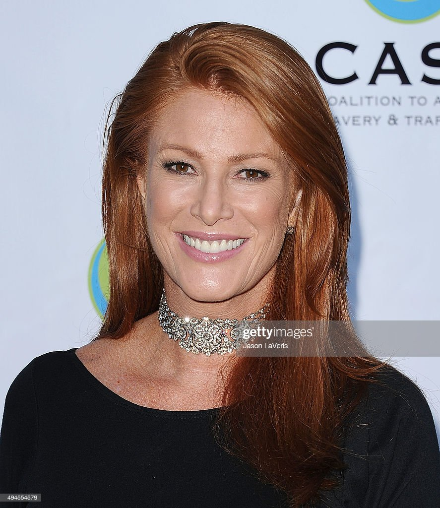 Actress <a gi-track='captionPersonalityLinkClicked' href=/galleries/search?phrase=Angie+Everhart&family=editorial&specificpeople=206121 ng-click='$event.stopPropagation()'>Angie Everhart</a> attends the 16th From Slavery to Freedom gala at Skirball Cultural Center on May 29, 2014 in Los Angeles, California.