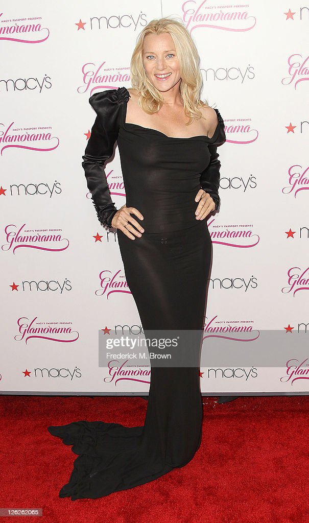 Actress Angie Featherstone attends the 29th Annual Macy's Passport Presents Glamorama 2011 at The Orpheum Theatre on September 23, 2011 in Los Angeles, California.