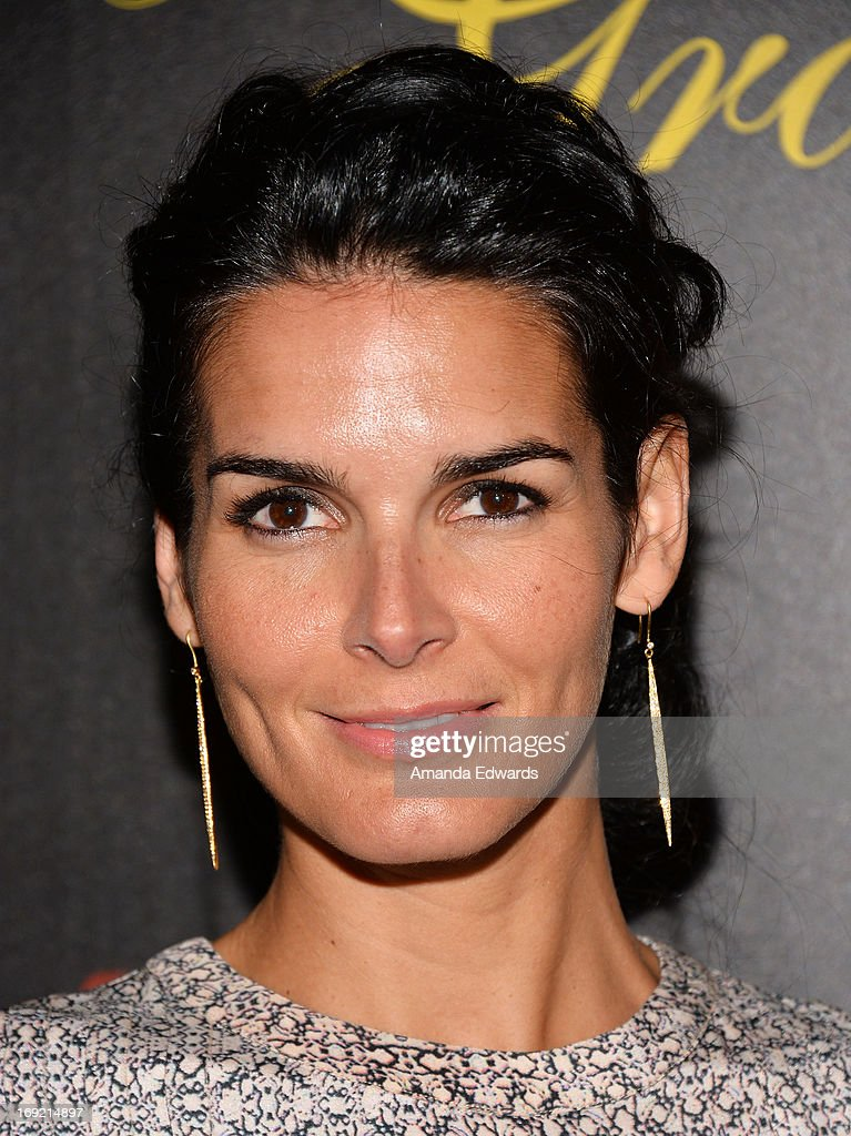 Actress Angie Harmon arrives at the 38th Annual Gracie Awards Gala at The Beverly Hilton Hotel on May 21, 2013 in Beverly Hills, California.