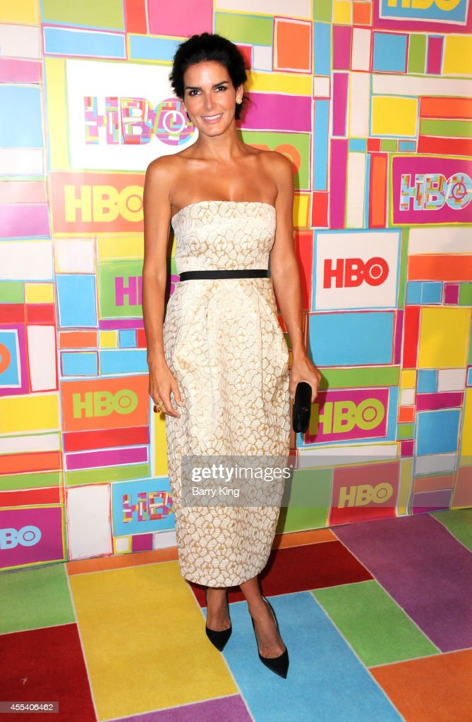 Actress Angie Harmon attends HBO's 2014 Emmy after party at The Plaza at the Pacific Design Center on August 25, 2014 in Los Angeles, California.