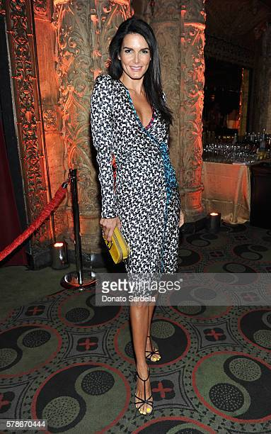Actress Angie Harmon attends Marc Jacobs celebrates Divine Decadence on July 21 2016 in Los Angeles California