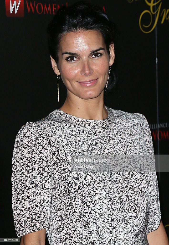 Actress Angie Harmon attends the 38th Annual Gracie Awards Gala at The Beverly Hilton Hotel on May 21, 2013 in Beverly Hills, California.