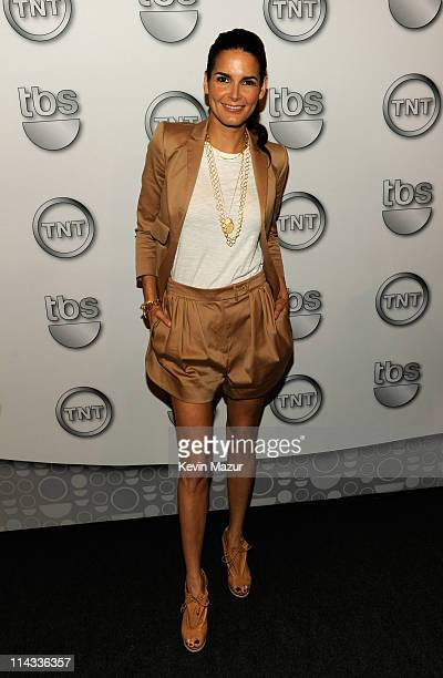 Actress Angie Harmon attends the TEN Upfront 2011 at Hammerstein Ballroom on May 18 2011 in New York City 21147_005_KM_0368JPG