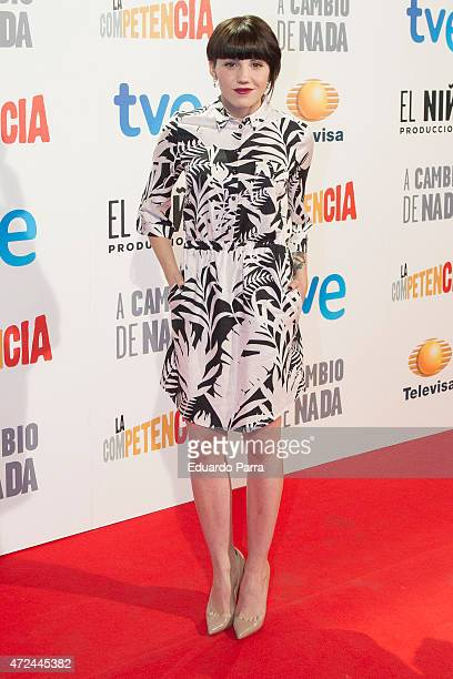 Actress Angy Fernandez attends 'A cambio de nada' premiere at Capitol cinema on May 7 2015 in Madrid Spain