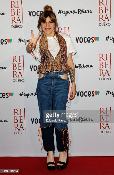 Actress Angy Fernandez attends the '#espiriturivera' photocall at Soho disco on May 25 2017 in Madrid Spain