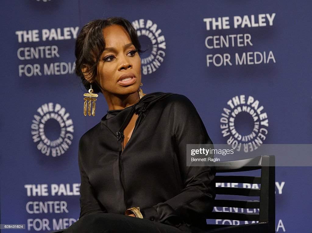 Actress Anika Noni Rose attends BET Presents 'An Evening With 'The Quad'' At The Paley Center on December 7, 2016 in New York City.