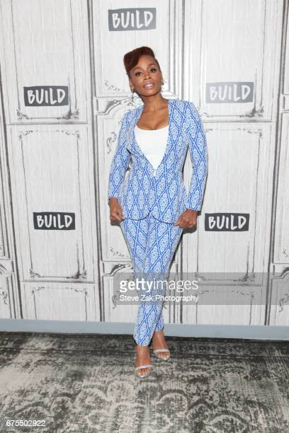 Actress Anika Noni Rose attends Build Series to discuss her new movie 'Everything Everything' at Build Studio on May 1 2017 in New York City