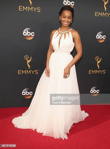 Actress Anika Noni Rose attends the 68th Annual Primetime Emmy Awards at Microsoft Theater on September 18 2016 in Los Angeles California