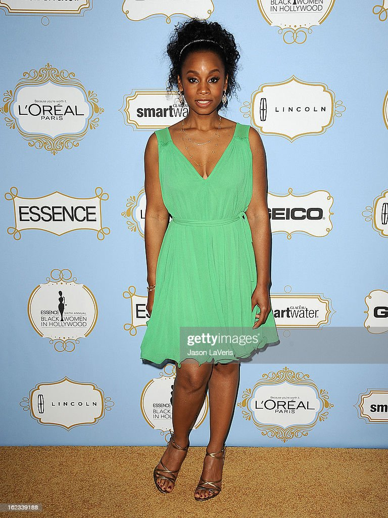 Actress Anika Noni Rose attends the 6th annual ESSENCE Black Women In Hollywood awards luncheon at Beverly Hills Hotel on February 21, 2013 in Beverly Hills, California.