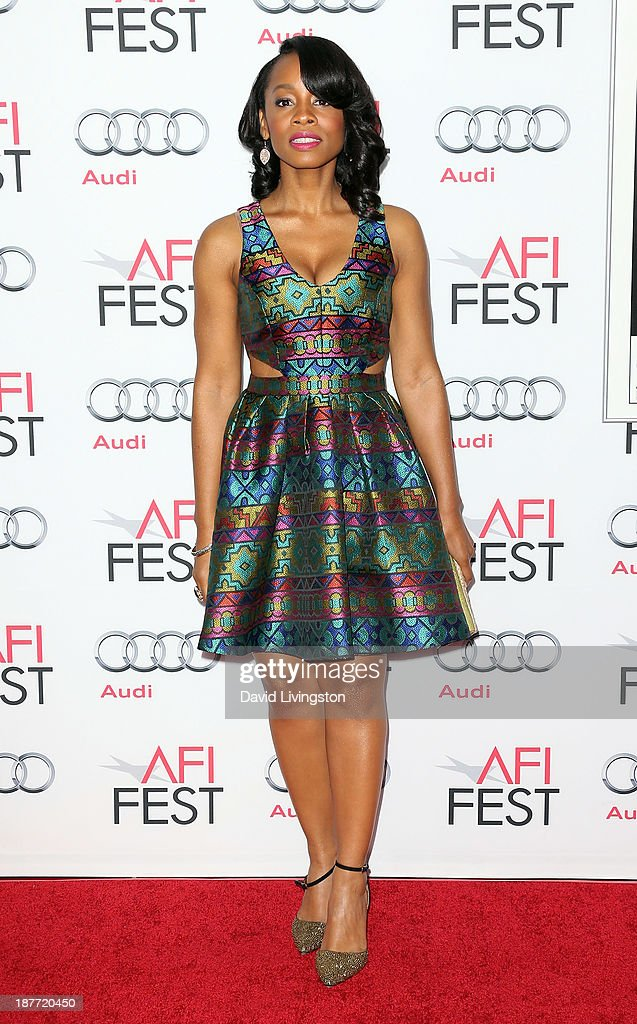 Actress Anika Noni Rose attends the AFI FEST 2013 presented by Audi photo call for 'Half of a Yellow Sun' and 'Juvenile Offender' at the TCL Chinese Theatre on November 11, 2013 in Hollywood, California.