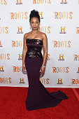 Actress Anika Noni Rose attends the 'Roots' night one screening at Alice Tully Hall Lincoln Center on May 23 2016 in New York City