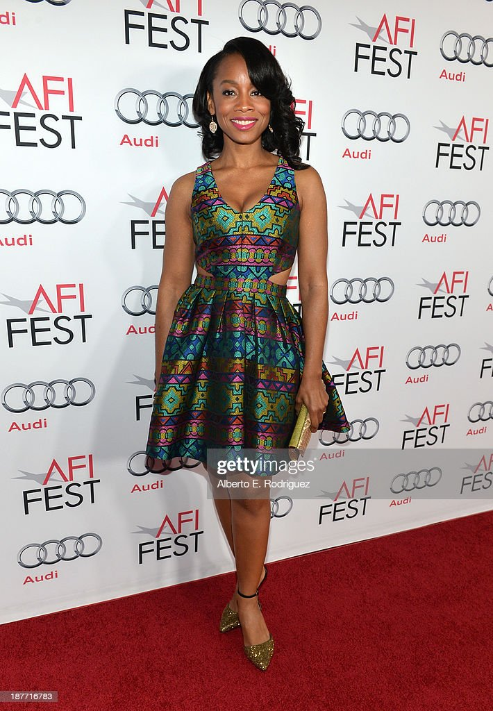 Actress <a gi-track='captionPersonalityLinkClicked' href=/galleries/search?phrase=Anika+Noni+Rose&family=editorial&specificpeople=227294 ng-click='$event.stopPropagation()'>Anika Noni Rose</a> attends the screening of 'Half Of A Yellow Sun' And 'Juvenile Offendor' during AFI FEST 2013 presented by Audi at TCL Chinese Theatre on November 11, 2013 in Hollywood, California.