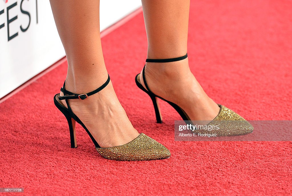 Actress <a gi-track='captionPersonalityLinkClicked' href=/galleries/search?phrase=Anika+Noni+Rose&family=editorial&specificpeople=227294 ng-click='$event.stopPropagation()'>Anika Noni Rose</a> (shoe detail) attends the screening of 'Half Of A Yellow Sun' And 'Juvenile Offendor' during AFI FEST 2013 presented by Audi at TCL Chinese Theatre on November 11, 2013 in Hollywood, California.
