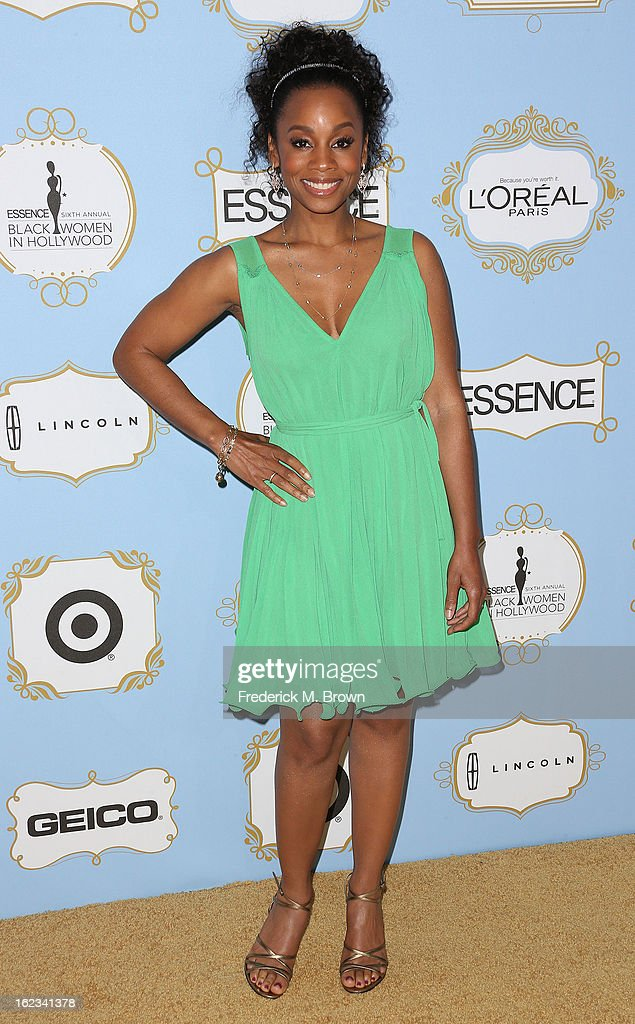 Actress Anika Noni Rose attends the Sixth Annual ESSENCE Black Women In Hollywood Awards Luncheon at the Beverly Hills Hotel on February 21, 2013 in Beverly Hills, California.