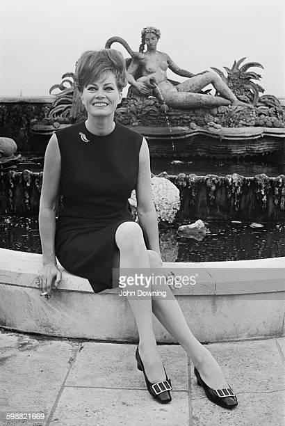 Actress Anita Ekberg 23rd October 1967