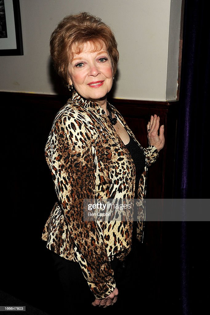 Actress Anita Gillette attends A Swell Party To Benefit the Actors Fund at the Metropolitan Room on April 14, 2013 in New York City.