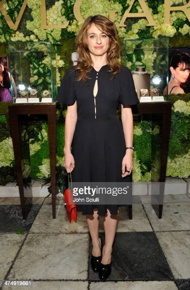 Actress Anita Kravos attends 'Decades of Glamour' presented by BVLGARI on February 25 2014 in West Hollywood California