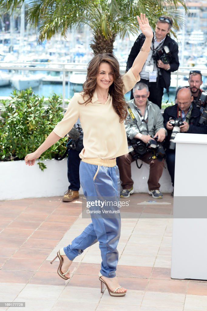 Actress Anita Kravos attends the photocall for 'La Grande Bellezza' during the 66th Annual Cannes Film Festival at Palais des Festivals on May 21...