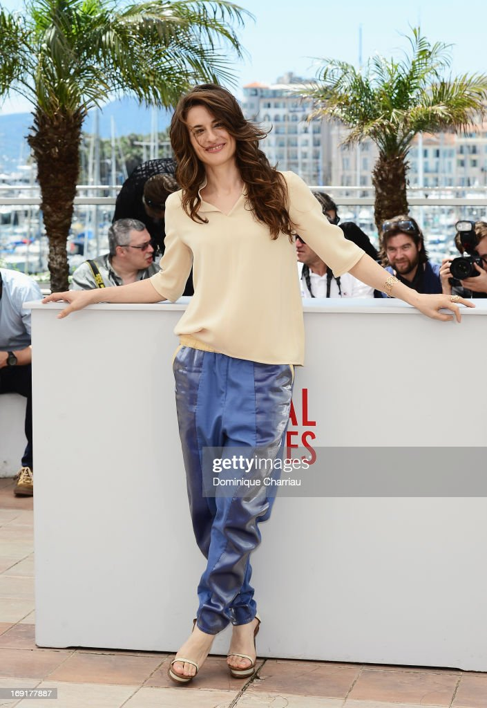 Actress <a gi-track='captionPersonalityLinkClicked' href=/galleries/search?phrase=Anita+Kravos&family=editorial&specificpeople=6380192 ng-click='$event.stopPropagation()'>Anita Kravos</a> attends the photocall for 'La Grande Bellezza' (The Great Beauty) during the 66th Annual Cannes Film Festival at Palais des Festivals on May 21, 2013 in Cannes, France.