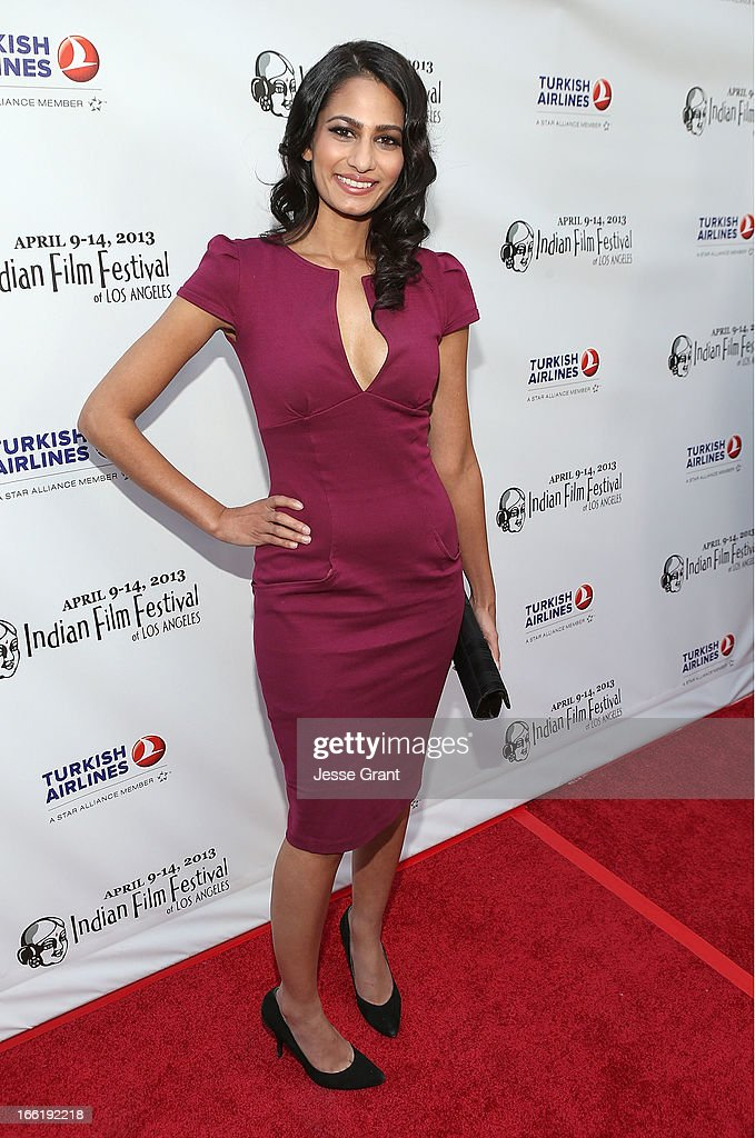 Actress Anita Vora attends the Indian Film Festival of Los Angeles (IFFLA) Opening Night Gala for 'Gangs Of Wasseypur' at ArcLight Cinemas on April 9, 2013 in Hollywood, California.