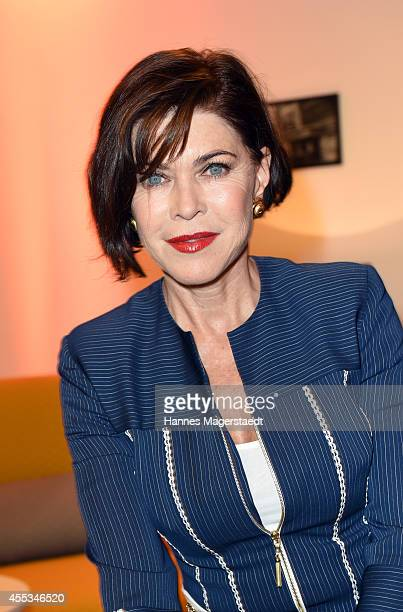 Actress Anja Kruse attends the Arcona Living Munich Opening on September 12 2014 in Munich Germany