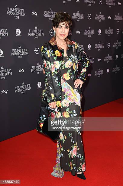 Actress Anja Kruse attends the Opening Night of the Munich Film Festival 2015 at Mathaeser Filmpalast on June 25 2015 in Munich Germany