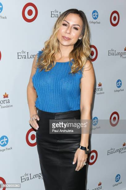 Actress Anjelah Johnson attends the Eva Longoria Foundation annual dinner at The Four Seasons Hotel Los Angeles at Beverly Hills on October 12 2017...