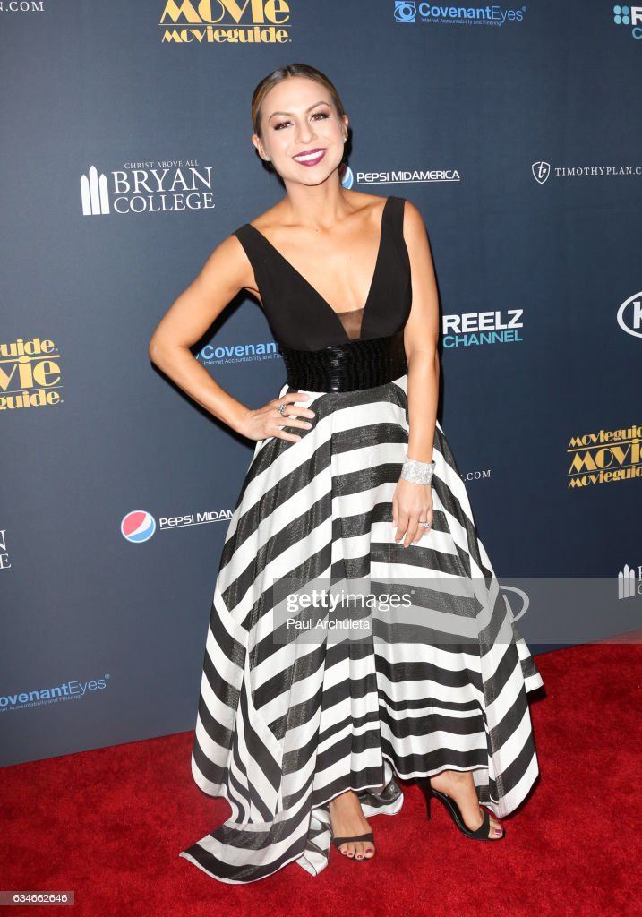 Actress Anjelah Johnson-Reyes attends the 25th Annual Movieguide Awards at Universal Hilton Hotel on February 10, 2017 in Universal City, California.