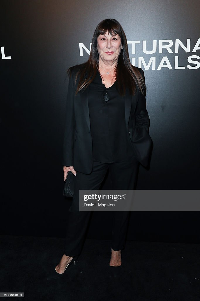 Actress Anjelica Huston arrives at the screening of Focus Features' 'Nocturnal Animals' at the Hammer Museum on November 11, 2016 in Westwood, California.