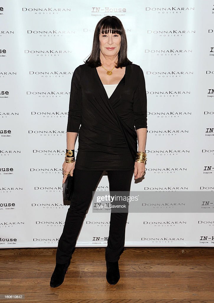 Actress <a gi-track='captionPersonalityLinkClicked' href=/galleries/search?phrase=Anjelica+Huston&family=editorial&specificpeople=202921 ng-click='$event.stopPropagation()'>Anjelica Huston</a> attends 'Haven't We Met Before?' New York Premiere at 711 Greenwich Street on February 3, 2013 in New York City.
