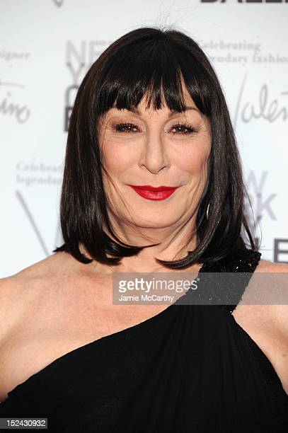 Actress Anjelica Huston attends the 2012 New York City Ballet Fall Gala at the David H Koch Theater Lincoln Center on September 20 2012 in New York...